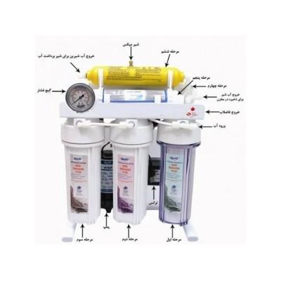 تصفیه آب خانگی شش مرحله ای