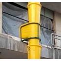 سازه فلزی شوتینگ نخاله ساختمانی
