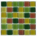 کاشی شیشه ای مینیاتوری مدل ترکیبی