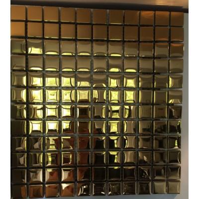 کاشی شیشه ای آینه ای مدل گلداستار