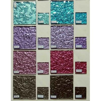 کاشی شیشه ای مربع متالیک