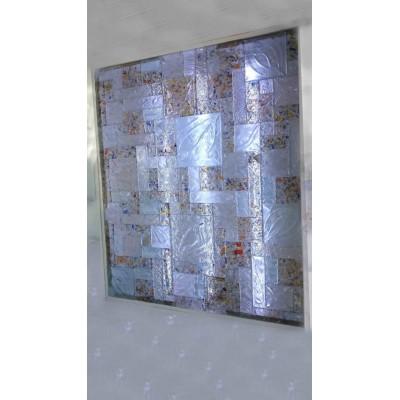 پازل های ترکیبی کاشی شیشه ای رنگ سرد الوان