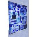 پازل های ترکیبی کاشی شیشه ای رنگ سرد – لاجورد