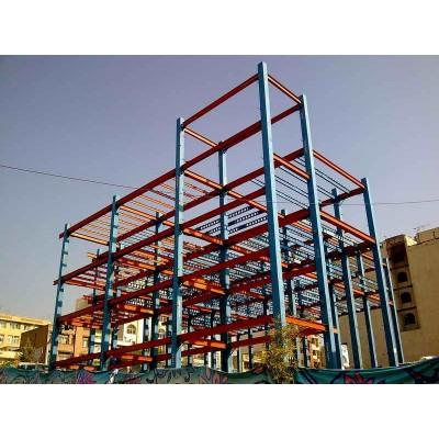 پروژه اسکلت فولادی ایستگاه آتش نشانی جوادیه