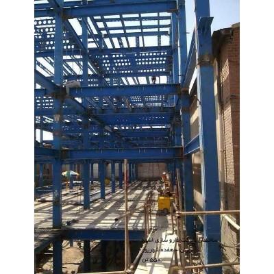 پروژه اسکلت فولادی شرکت داروسازی اسوه