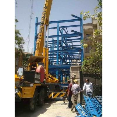 پروژه اسکلت فولادی گاندی
