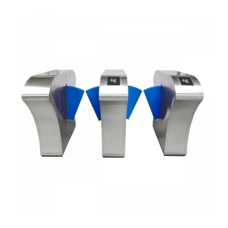 گیت کنترل تردد مترویی شیشه ای ماداکتو (Flap Gate)مدل MD-G304