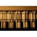 قطار مقرنس چوبی پنج پا(خشابی) مدل G-14
