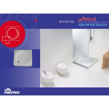 زیردوشی مربع مدل 6