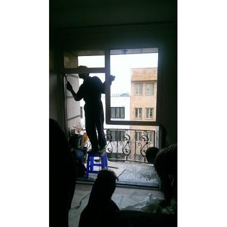 تعویض پنجره قدیمی با دوجداره