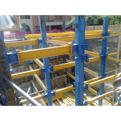 پروژه اسکلت فولادی مجتمع ندا بلوار اندرزگو