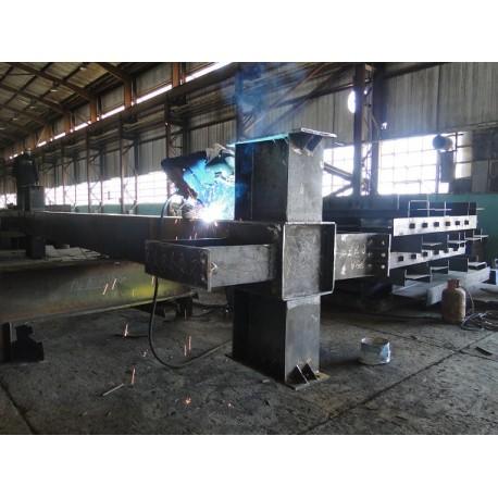 پروژه اسکلت فولادی سیتی سنتر کرمان