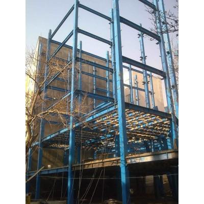 پروژه اسکلت فولادی ندا بلوار اندرزگو