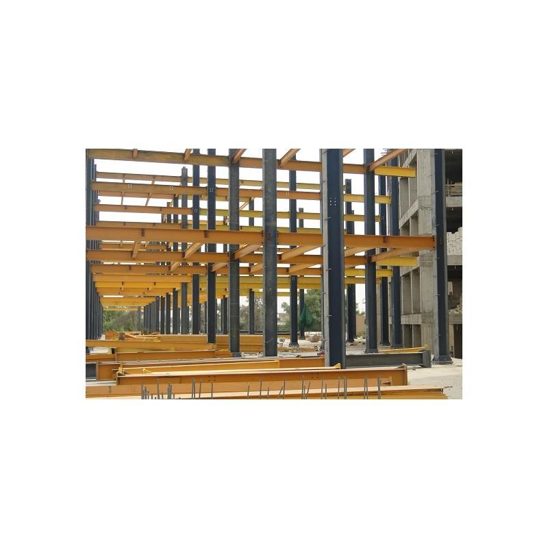 پروژه اسکلت فولادی کاظمین... ساخت سازه های فلزی; ابعاد ستون اسکلت