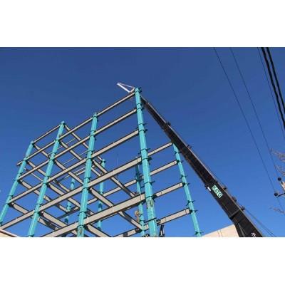 پروژه اسکلت فلزی cft عظیمیه کرج (بلوار کاج)