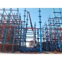 پروژه اسکلت فولادی کربلا