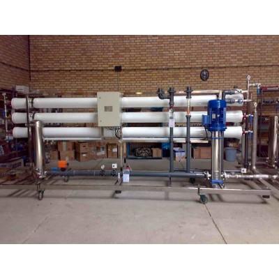 آب شیرین کن کارخانه ورق خودرو شهرکرد به ظرفیت 12 متر مکعب در ساعت