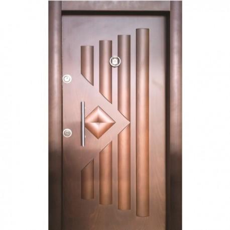 درب ضد سرقت رویه MDF تمام برجسته کد : 1108