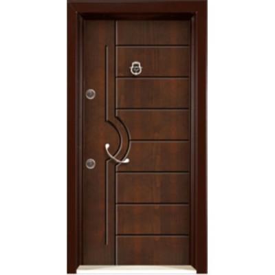 درب ضد سرقت رویه MDF با طرح CNC کد : 3003