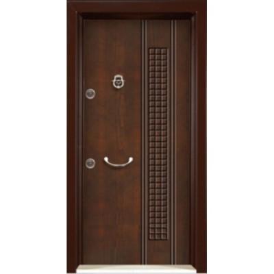 درب ضد سرقت رویه MDF با طرح CNC کد : 3004