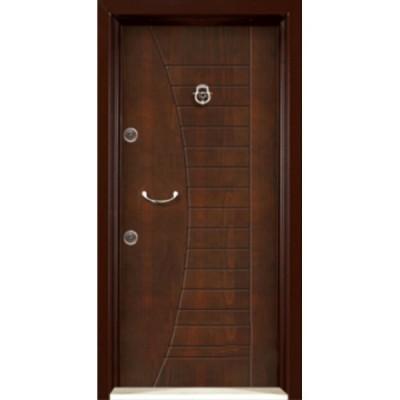 درب ضد سرقت رویه MDF با طرح CNC کد : 3009
