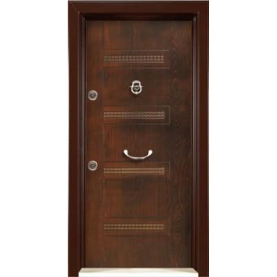 درب ضد سرقت رویه MDF با طرح CNC کد : 3020