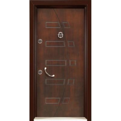 درب ضد سرقت رویه MDF با طرح CNC کد : 3022