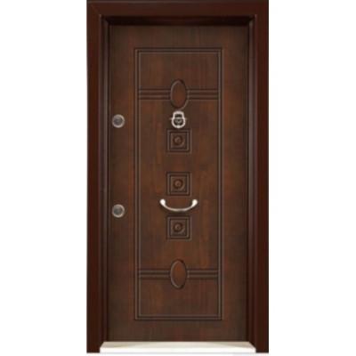 درب ضد سرقت رویه MDF با طرح CNC کد : 3024
