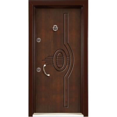 درب ضد سرقت رویه MDF با طرح CNC کد : 3025