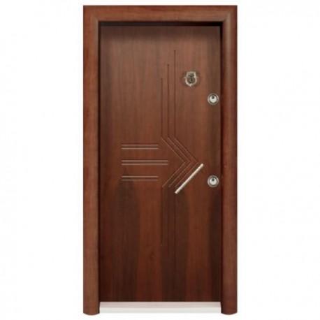 درب ضد سرقت رویه MDF با طرح CNC کد : 3030