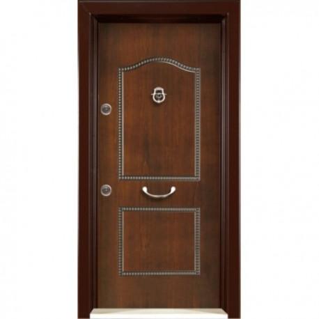 درب ضد سرقت رویه MDF با طرح CNC کد : 3040