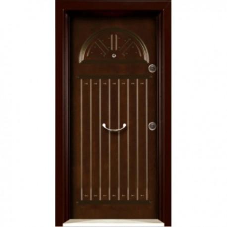 درب ضد سرقت رویه MDF با طرح CNC کد : 3043