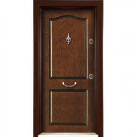 درب ضد سرقت رویه MDF با طرح CNC کد : 3045