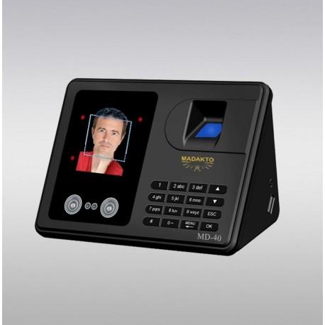 دستگاه حضور غیاب تشخیص چهره ،اثر انگشت ، رمز و کارت MD-40