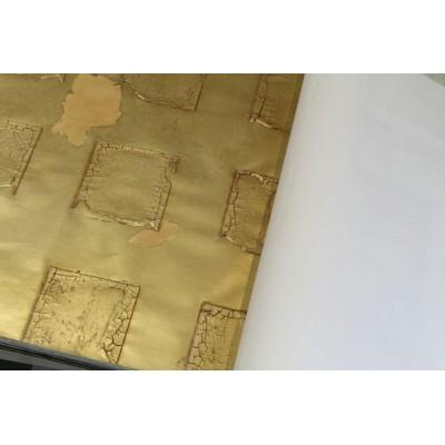 کاغذ دیواری دست ساز
