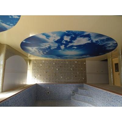 سقف کشسان اکستنزو پروژه ویلای شخصی شهرک غرب