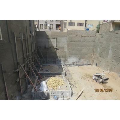 اجرای نیلینگ و انکراژ (مونو بار) -پروژه سهروردی(آپادانا)