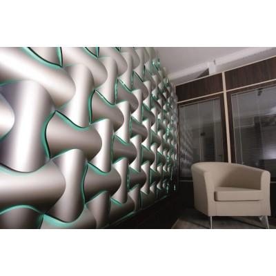 دیوارپوش سه بعدی اسپیلاین پروژه دفتر طراحی بنی هاشم
