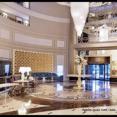 دیوارپوش سه بعدی اسپیلاین پروژه هتل بلک