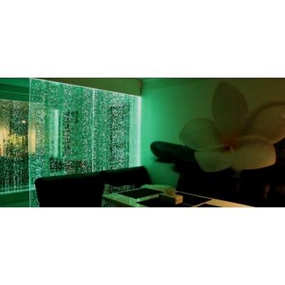 دیوار حباب سبز