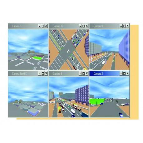 محاسبه حجم ترافیک با نرم افزار