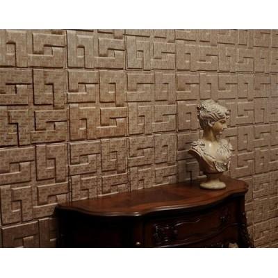 دیوار پوش چرمی سه بعدی مدل Fendi