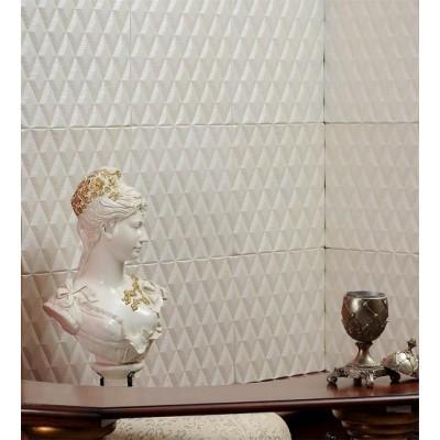 دیوار پوش تمام چرم سه بعدی مدل Chanel
