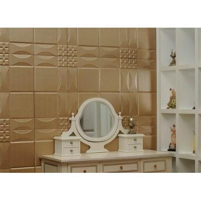 دیوار پوش تمام چرم سه بعدی مدلPandora