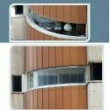 پروژه تراس شیشه ای جمع شو برج زنبق واقع در چهار راه کامرانیه