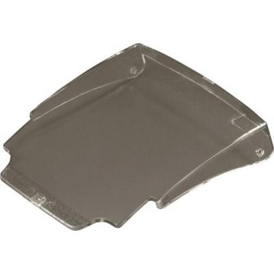 ملزمات اطفای حریق-درب لولایی با پوشش شفاف