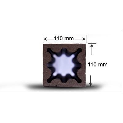 پروفیل چوب پلاست S1