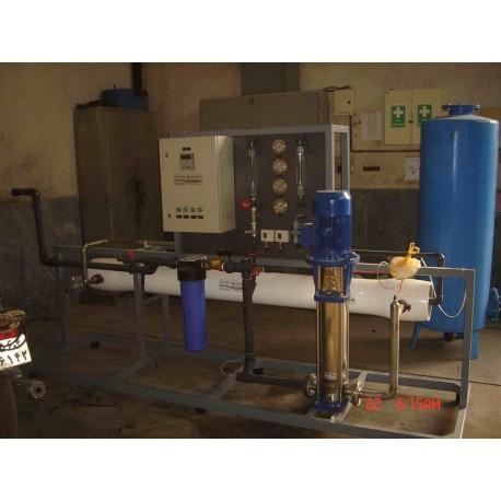 آبشیرین کن شرکت نفت گستر اهواز به ظرفیت 50