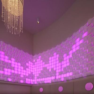 دیوار پوش سه بعدی اسپیلاین-شفاف