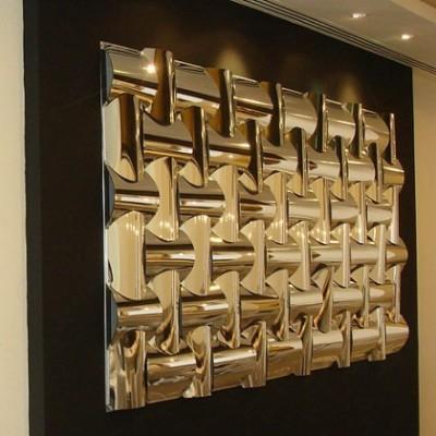 دیوار پوش سه بعدی اسپیلاین-کروم